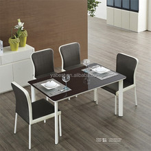 High quality glass dining table