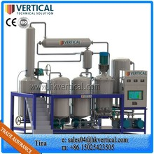 VTS-PP used engine oil recycle distillation plant used oil recycling machine waste tyre recycling plant