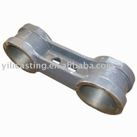 train connect rod part investment casting cast steel wax lost steel casting
