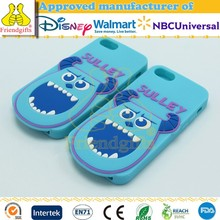 NBCUniveral Audited Factory Custom Silicone Mobile Phone Case 3d Cartoon Decoration Cell Phone Cover for iphone