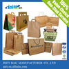 High Quality Recyclable Custom Printed Kraft tote Paper Bag