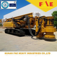 TOP China Earth boring rig, FAR75 Hydraulic rotary drilling rig with Rexroth motor reducer