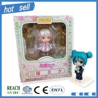 hot sell OEM Q version cartoon Sakura pvc action Figure