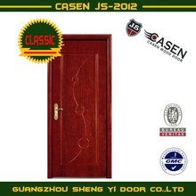 Cherry MDF wooden toilet door design