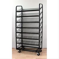 8 Level Rotary Floor Standing Bread Display Shelves
