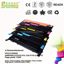 Toner Cartridges Remanufactured Printer Cartridges FOR USE IN SAMSUNG CLP310/315, CLX-3170,CLX-3175 (PTCLT-K409S)