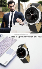 ZGPAX S365 smart bluetooth watch connect with IOS and android phone all push nofitication