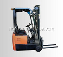 China made 3-way electric fork lift truck, electric fork lifter for hot sale