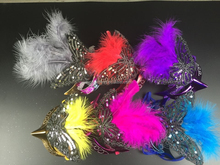 2015 Factory Direct Sale New Feather Mask,Masquerade Masks For Halloween,Venetian Mask For Sale From China