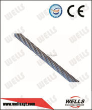 Wells factory supply galvanized 7x7 cable wire