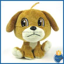 plush toy dog with big eyes for baby lovely gifts stuffed farm animal cartoon dog