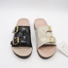 Trendy unique ankle strap zipper no platform high heel sandals for women