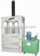 Plastic baling machine