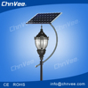 Jiaxing 8W-60W high lumen solar power led garden light for sresky with pole