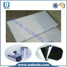 Venda quente clara rígida transparente plástico rolo de pvc para porta álbum de fotos feitas na China