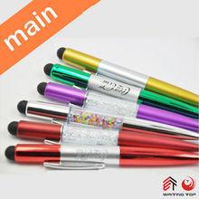 Gift promo stylus pen bling in china