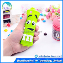 Wholesale M&M cell phone case,3D Silicon case For iPhone 4G/4S/5G/5C/5S/6G/6Plus