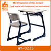 fashion wood plywood school student stool and table