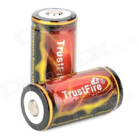 Trustfire 18350 1200mAh 3.7V Li-ion lithium lion Rechargeable Battery Free Shipping Wholesale 18350 add protection circuit board