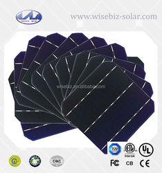 156*156mm Size and Monocrystalline Silicon Material 6*6 high efficiency mono solar cell