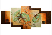 2015 newest modern flower oil painting on canvas for wall art decor,Manufactor brand hand-painted canvas flower oil painting