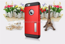 3 in 1 Hybrid Kickstand Slim Armor Mobile Phone Case For Iphone 6 plus 5.5'''