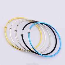 40 mm Wide Spring Fake Earrings Bulk Simple Style Stainless Steel Hoop Earring