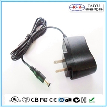 ul approved us plug in power adapter input 110 120v ac adapter for USA
