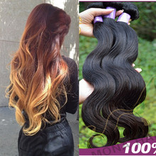 Mona hair top quality 16,18,20in for a full head sexy body wave expression hair extensions