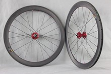 50mm tubuless new product carbon road bike wheel set red bitx hub carbon road bike wheel set