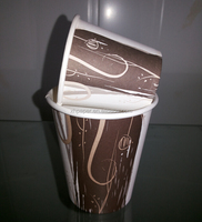 7oz cheap disposable single wall paper cup /disposable coffee cup
