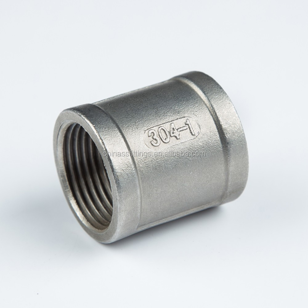 Stainless steel pipe fittings socket banded with iso