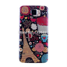 Phone Case mobile Phone cover For Samsung Galaxy S5 G9006v relief process PC material cover (18 photo selection)