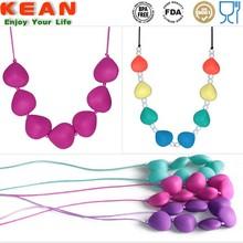 baby teething jewellery amber teething jewelry wholesale silicone teething beads