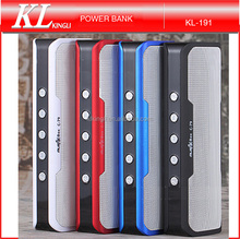 Portable Multi-function Stereo Bluetooth Speaker 4000mAh Power Bank for cell phone Support FM Radio / TF Card