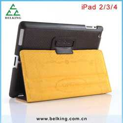 Wholesale Shock Proof Tablet PU Leather Case For iPad 2 3 4, Leather Tab Covers For iPad 2/3/4 Folio Cases