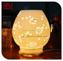home decoration ceramic night lamp electric fragrance lamp
