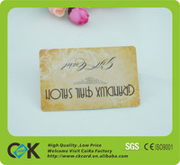 most popular style clear plastic id card cover with high grade printing