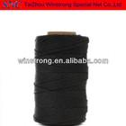 nylon preto com barbante de alcatrão