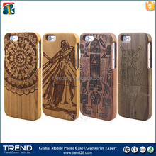 bulk buy from china laser real wooden case for iphone 6