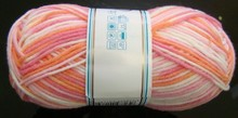 015 Trade Assurance waxed cotton yarn for name brand hand knit socks knitting light grey color 8s to 24s