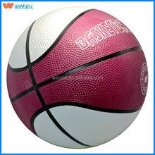 top sale new design deluxe rubber basketball balls