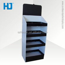 Advertising basketball corrugated cardboard pallet display rack for promotion