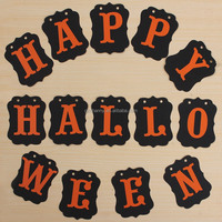 New Arrival Fashionable Portable 3Meter Happy Halloween Party Supplies Banner Flag Roof Door Decoration Best Price