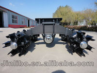 28T Suspension Spoke Wheel Bogie Axle