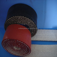 Heat resistant waterproof self-fusing fiberglass silicone rubber insulation tape for pipes/hoses