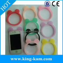Hot Sale Luminous Elastic Silicone Wrist Ring Case mobile phone silicone case