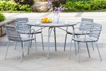 Derechos de autor artículo! jardín polywood aluminio conjunto mesa de comedor muebles