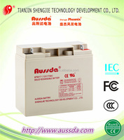 Hot model Sealed lead acid storage battery 12v 17ah with CE&Rohs&UL