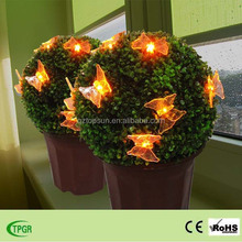 The grass ball with butterfly solar light for garden ornaments outdoor decorative solar light